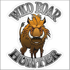 Wild boar hunter Hunting Decal Sticker