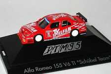 1:87 Alfa Romeo 155 DTM 1995 Schuebel,TV Long-métrage N° 11,Danner herpa 036498