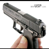 1:2.05 HK_USP Pistol Metal Model Guns Toy Military Collection Gift