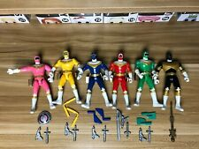 Mighty Morphin Power Rangers Vintage Lot of Action Figures Power Rangers Zeo