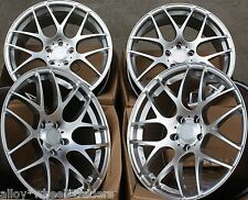 "18"" S MS007 ALLOY WHEELS FITS 5X98 ALFA ROMEO 147 156 164 GT FIAT 500L DOBLO"