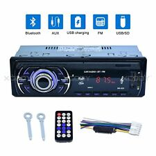 Autoradio Bluetooth stéréo respectais FM USB SD AUX lecteur mp3 4x60w 1din Radio