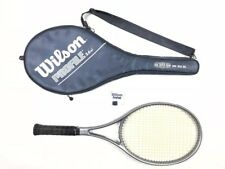 "VTG Wilson Profile 3.6si Tennis Racquet & Full Zip Case 4-1/2"" Grip West Germany"
