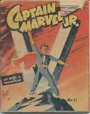 MIGHTY MIDGET COMICS CAPTAIN MARVEL JR 1942 FAWCETT RARE MINI VG- SAMUEL LOWE CO