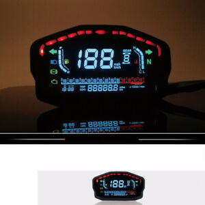 Modified LED LCD Speedometer Backlight Odometer For 2,4 Cylinders Motorcycle