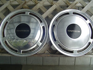 86 93 CHEVY CHEVROLET CAPRICE VINTAGE  HUBCAPS WHEEL COVER POLICE CLASSIC 15 IN.