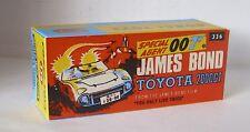 REPRO BOX CORGI n. 336 James Bond TOYOTA 2000 GT