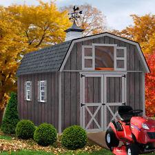 Best Barns Woodville 10 ft. x 16 ft. DIY Wood Shed Kit