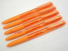 5 x Uni-Ball Signo RT UMN-155 0.5mm Retractable Rollerball Gel Ink Pen, Orange