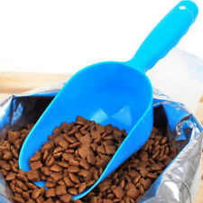 Hot Plastic Pet Dog Puppy Cat Bird Rabbit Ferret Food Feeder Bowl Scoop Shovel