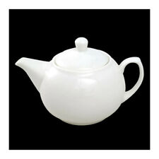Orion White Ceramic Teapot 35fl.oz 1 Litre Zodiac NEW!!