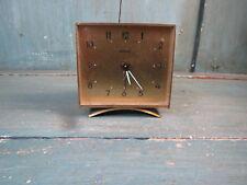 ancien Réveil bayard France français  old alarm clock damier
