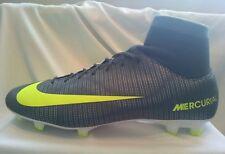 Nike MERCURIAL VICTORY vi CR7 DF D FG Calcio Calzini Stivali UK 6 EUR 40 NUOVO