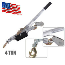 Us Durable 4T Hand Puller Cable Winch Puller Hand Powerful Winch Hoist 8000lb Ce