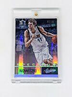 2012-13 Panini Absolute Spectrum Platinum #27 Dirk Nowitzki /10 Mavericks HOF