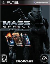 Mass Effect Trilogy 1 2 3 [PlayStation 3 PS3] Brand New
