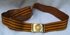 Hungarian Military Surplus Item - COMMUNISM ERA - Army Men Vintage Parade Belt