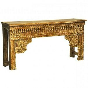 New Rectangle Wooden Side Table, Living Room Accent End Table