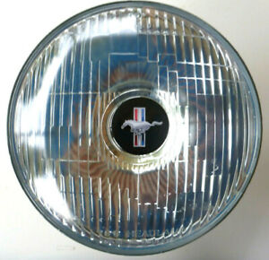 "2 x 7"" MUSTANG  BADGED CUSTOM LED HEADLAMPS -   GT Fastback Convertible etc."
