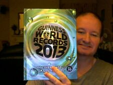 GUINNESS WORLD RECORDS 2013 HARDBACK HOME SCHOOLING REFERENCE FREE UK POST