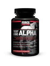 Force Factor Test X180 ALPHA - enhance performance/build lean mass -120 caps new