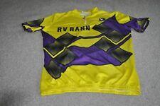 VINTAGE VERMARC RV BANN CYCLING JERSEY MEN SIZE XL