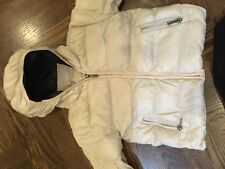Add Baby Puffer Down Jacket Size 24m Ivory/Navy