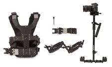 Flowcam DGS Handheld Camera Stabilizer Steadicam DSLR w/ Dual Handle Arm Vest