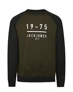 JACK and & JONES CORE  Pullover Sweatshirt Longsleeve Pulli khaki S M L XL XXL