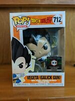 Funko Pop Dragonball Z Vegeta  (Galick Gun) #712 Challace Collectables Exclusive