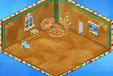 Webkinz online game virtual items Christmas GINGERBREAD CHALLENGE THEME set $18