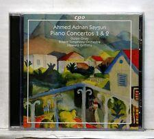 GULSIN ONAY, GRIFFITHS - AHMET ADNAN SAYGUN piano concertos nos.1 & 2 CPO CD NM