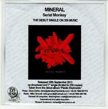 (EN672) Mineral, Serial Monkey - 2013 DJ CD