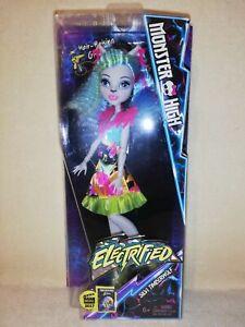 Monster High Silvi Timberwolf. Electrified 2016 BNIB. ULTRA DYNAMIC DISPLAY SET!