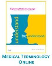 Medical Terminology Online - Exploring Medical Language by Myrna LaFleur Brooks
