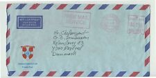 1995 UNPROFOR DENMARK ARMY AIR MAIL+RED Cancel DANCON+DANBACoat of ARMS+-N519