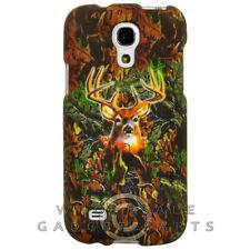 Samsung Galaxy S4 Mini Shield Camo Deer Hunter WFL025 Cover Shell Protector Case