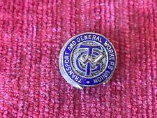 Transport & General Workers Union TGWU Enamel Lapel Badge Toye & Co b8
