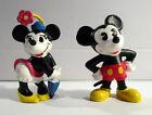 2 Disney Figuren Minnie Classic mit Schirm und Micky Classic.unbespielt.