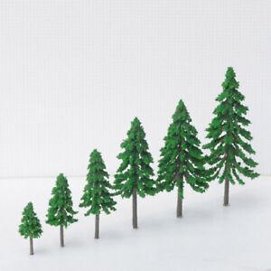Fir Tree's x 4 Plastic Christmas Cake Topper Decorations