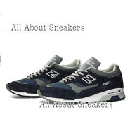 NEW BALANCE M1500 - MADE IN ENGLAND NAVY Unisex Trainers All Sizes Limited Stock