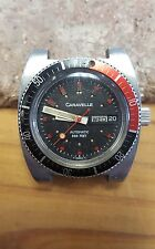 Vintage Caravelle Divers Type Watch