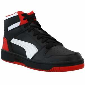 Puma Rebound Layup High   Mens  Sneakers Shoes Casual   - Black