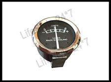 "Lucas Inscribe Black Faced AMP Ammeter 8-0-8 1 3/4"" BSA Triumph Norton Matchless"