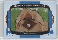 2017 Upper Deck Goodwin Champions Canine Companions Pekingese #Cc93