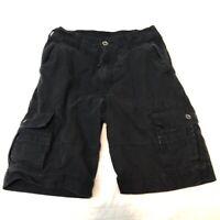 Levi's Cargo Shorts Men's Size 30 Rugged Black Shorts White Tab Levis