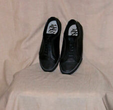 R & R Mens Size 8.5 M Black Manmade Materials Casual Shoes