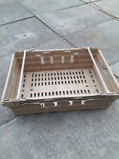36 x Bail Arm Crates / Bale Arm 60 x 40 x 17cm high Plastic Boxes Stacking Tray
