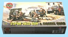 AIRFIX: A01305 25PDR FIELD GUN & MORRIS QUAD 1:76 - ORIGINAL BOX - SEALED