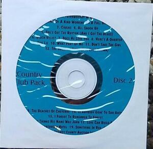 COUNTRY KARAOKE CDG MUSIC MAESTRO CLUB PACK VOL 2 - TIM MCGRAW MUSIC CD CD+G